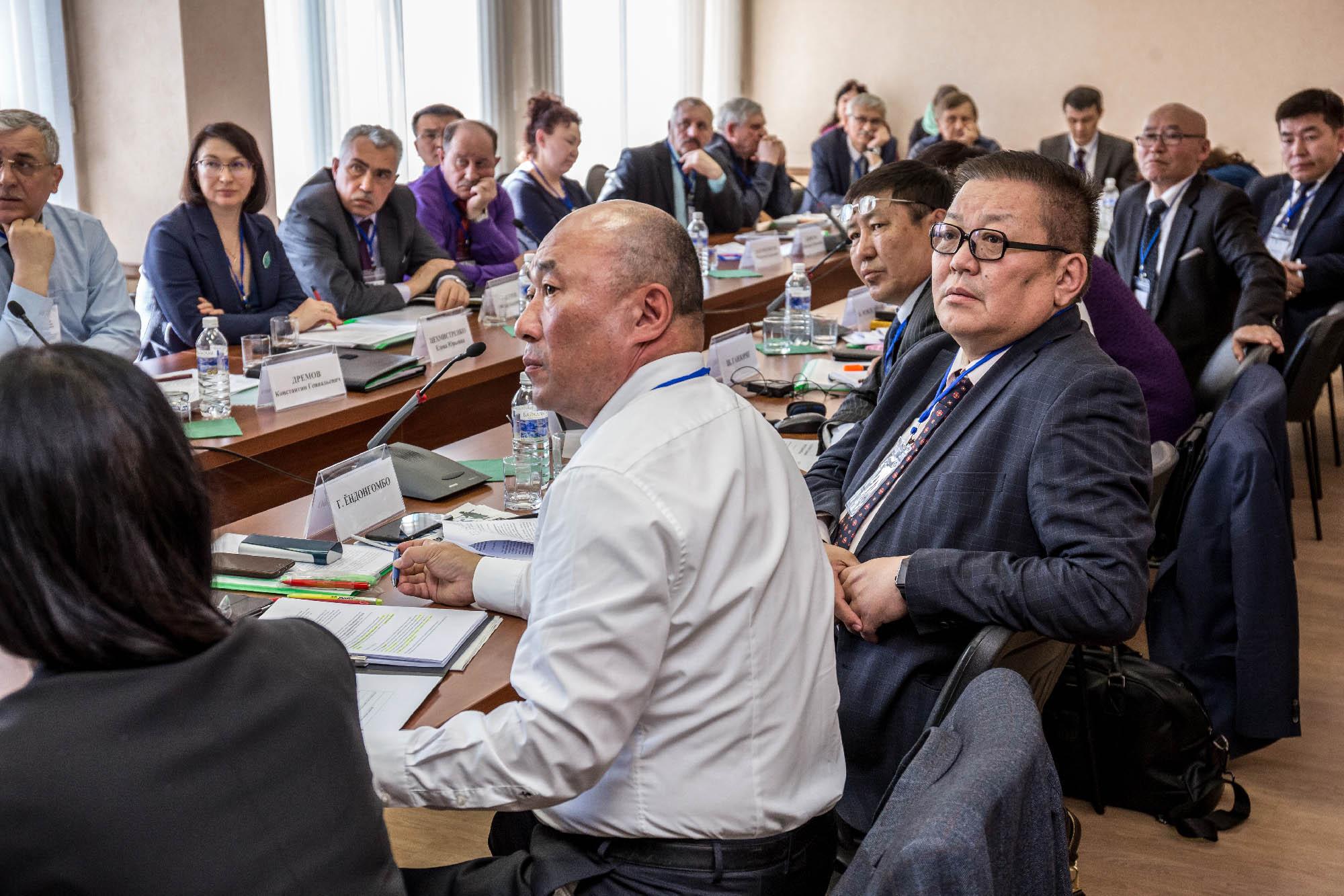 Первое заседание российско-монгольской Рабочей подгруппы по «Научному сопровождению разработки материалов для комплексного рассмотрения вопросов, связанных с планируемым строительством в Монголии гидротехнических сооружений на водосборной территории реки Селенги»